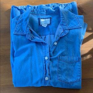 Like new chambray shirt!